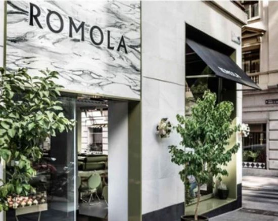 ROMOLA restaurante César Bustos No hay excusas